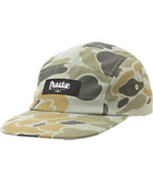 Primitive Work Script Camo 5 Panel Hat