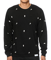 Primitive x Grizzly Icon Crew Neck Sweatshirt