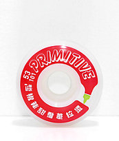 Primitive x Huy Fong Bottle 53mm Skateboard Wheels