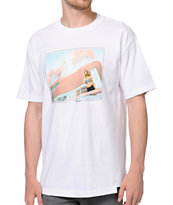Primitive x Van Styles Beach View White Tee Shirt