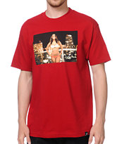 Primitive x Van Styles Iesha Red Tee Shirt