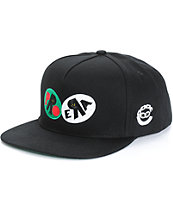 Pro Era x Crooks and Castles Logo Snapback Hat