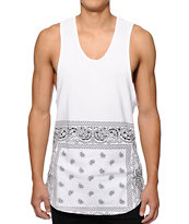 Prolific Bandanna Extra Long Tank Top
