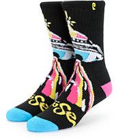 Psockadelic Mouse Crew Socks