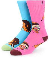 Psockadelic Trippin Crew Socks