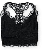 R.N.B. Black Lace Racerback Bralette