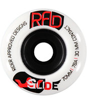 RAD Glide 70mm 78a Skateboard Wheels