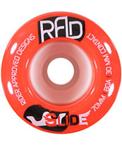RAD Glide 70mm 80a Longboard Wheels