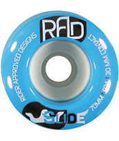 RAD Glide 70mm 82a Longboard Wheels