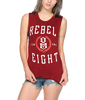 REBEL 8 Laurels Muscle Tee