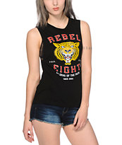 REBEL 8 Leaders Of The Pack Muscle Tee