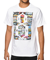 REBEL8  Legend White Tee Shirt
