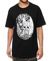 REBEL8 Asgard Black T-Shirt