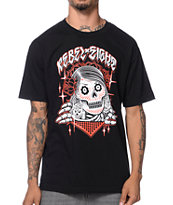 REBEL8 Bones Girl Black T-Shirt
