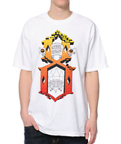 REBEL8 Brick By Brick White Tee Shirt