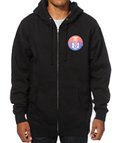 REBEL8 Cover The 8 Zip Up Hoodie