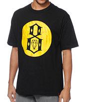 REBEL8 Crash N Burn Black T-Shirt