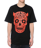 REBEL8 Demon Lovers Black Tee Shirt