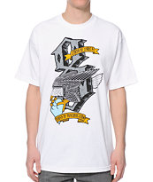 REBEL8 Dukes Of Destruction White Tee Shirt