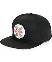 REBEL8 Fingers Crossed Snapback Hat