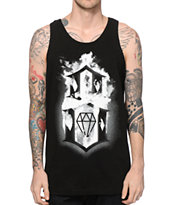 REBEL8 Flaming 8 Tank Top