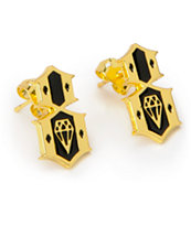 REBEL8 Gold Earrings
