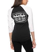 REBEL8 Hops Baseball T-Shirt