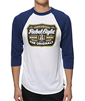 REBEL8 Hops Baseball T-Shirt