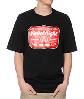 REBEL8 Hops Black T-Shirt