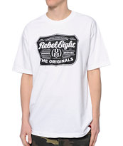 REBEL8 Hops White Tee Shirt
