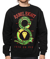 REBEL8 Join Or Die Crew Neck Sweatshirt
