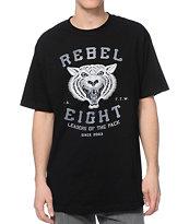 REBEL8 Leaders Of The Pack Black T-Shirt