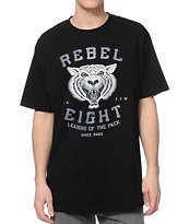 REBEL8 Leaders Of The Pack Black Tee Shirt