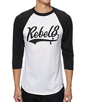 REBEL8 Lefty Baseball T-Shirt