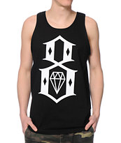 REBEL8 Logo Black Tank Top