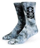 REBEL8 Logo Tie Dye Crew Socks
