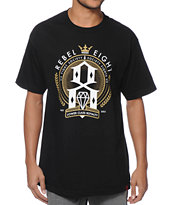 REBEL8 Lower Class Royalty Black Tee Shirt
