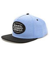 REBEL8 Main Line Denim Snapback Hat