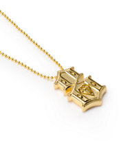 REBEL8 Metal 8 Gold Necklace