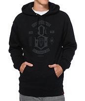 REBEL8 Original Black Pullover Hoodie