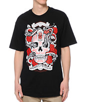 REBEL8 Raider Black Tee Shirt