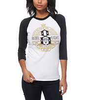 REBEL8 Royalty Baseball Tee