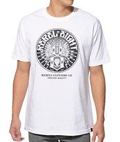 REBEL8 Sewer King White T-Shirt