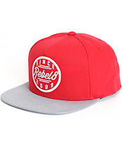 REBEL8 Since 2003 Snapback Hat