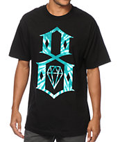 REBEL8 Tie Dye Logo Tee Shirt