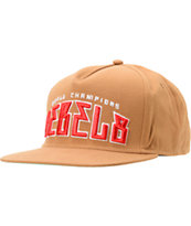 REBEL8 World Champs Dark Khaki Snapback Hat
