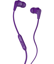 RIOT PURPLE MIC'D EAR BUD