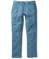 RVCA All Time Blue Slim Fit Chino Pants