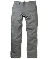 RVCA Americana Charcoal Relaxed Chino Pants