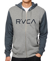 RVCA Big Zip Up Hoodie